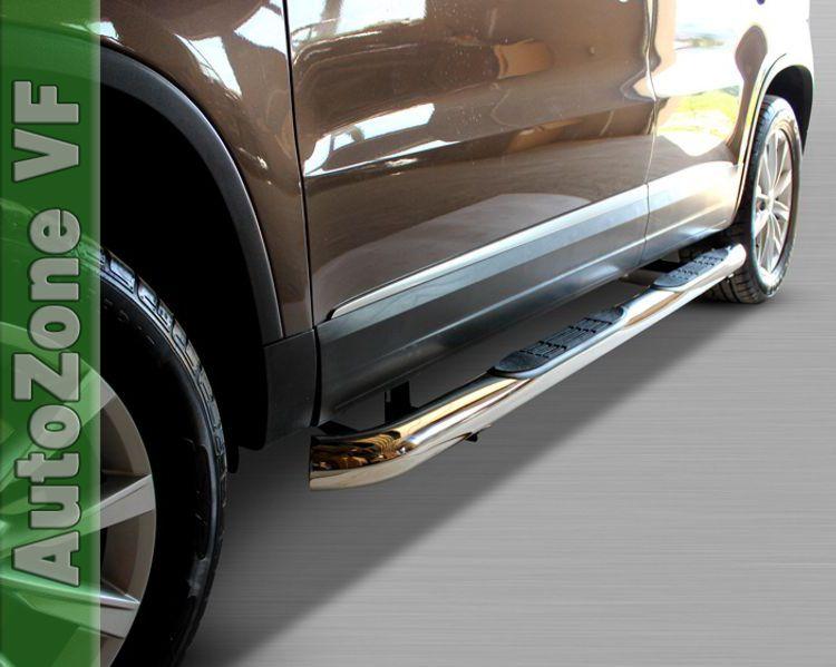 Vw Tiguan 2007 2015 Side Bars Chrome Stainless Steel Side