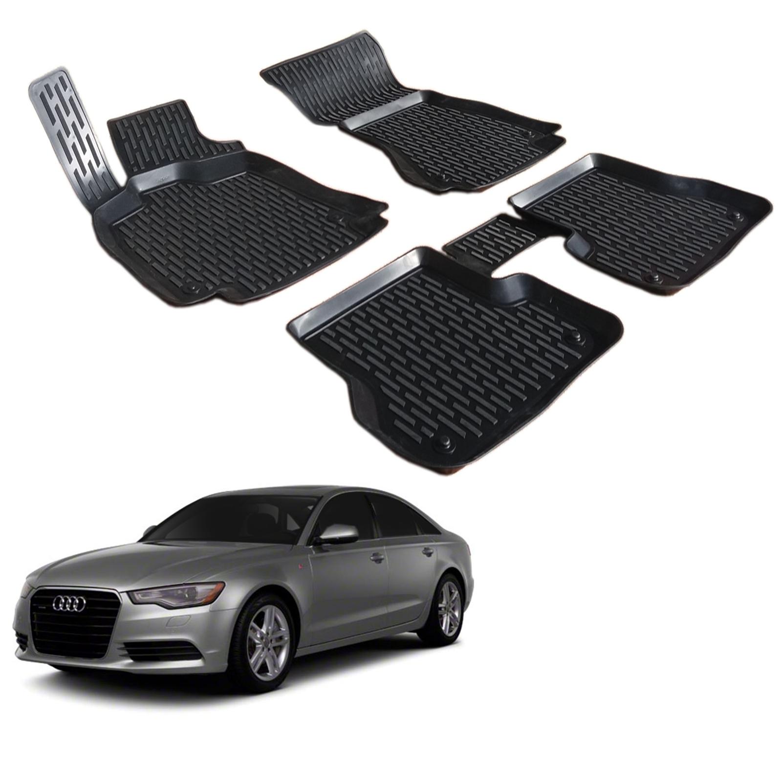 Gumové rohože 3DS SCOUTT Audi A6 2011-up