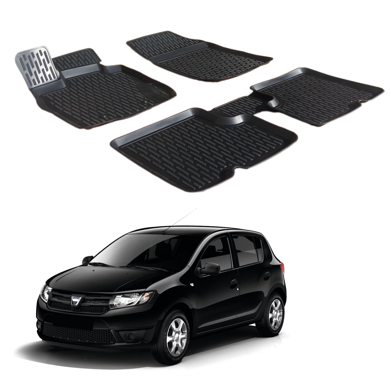 Gumové rohože 3DS SCOUTT Dacia Sandero 2013-up