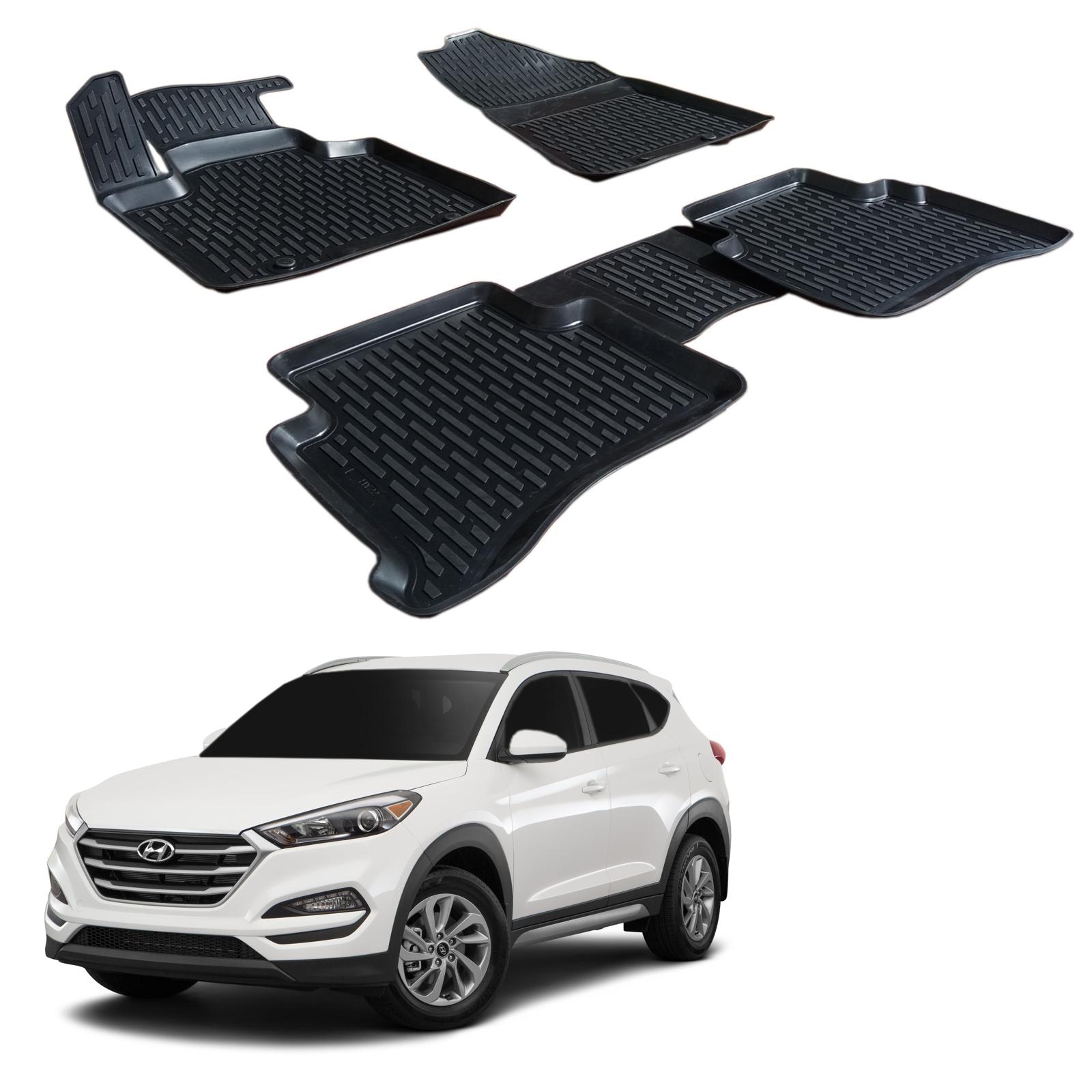 Gumové rohože 3DS SCOUTT Hyundai Tucson 2015-up