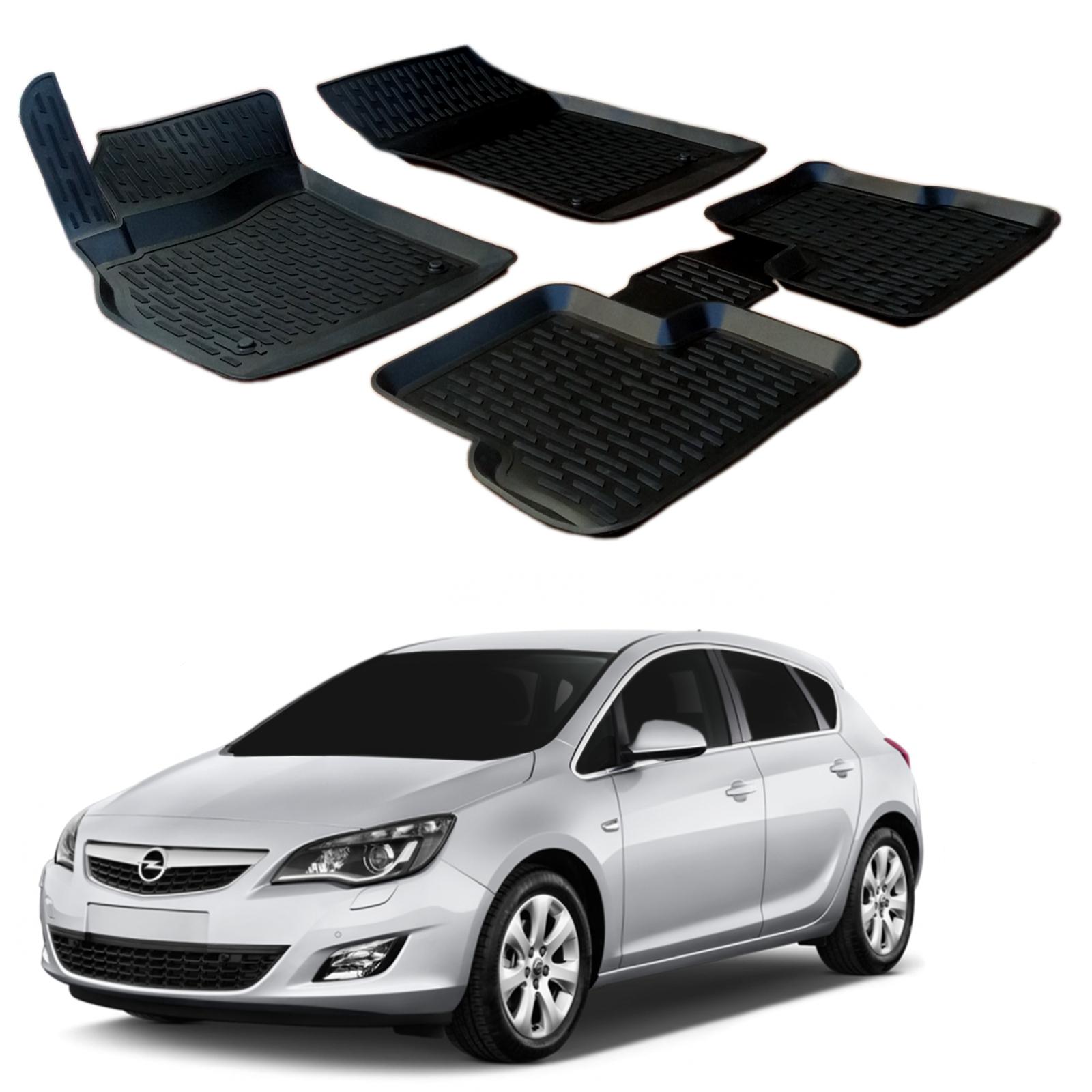 Gumové rohože 3DS SCOUTT Opel Astra J 2010-2016