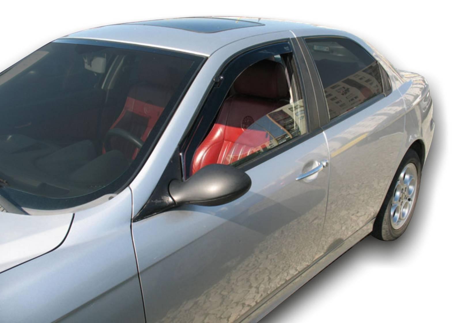 Okenné deflektory Alfa Romeo 156 4D 1998-2006 2 ks predné