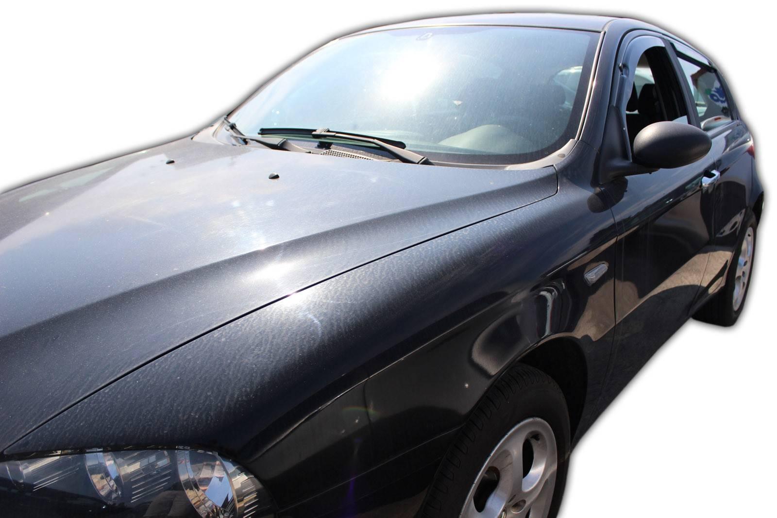 Okenné deflektory Alfa Romeo 147 5D 2001-2010 4 ks predné+zadné