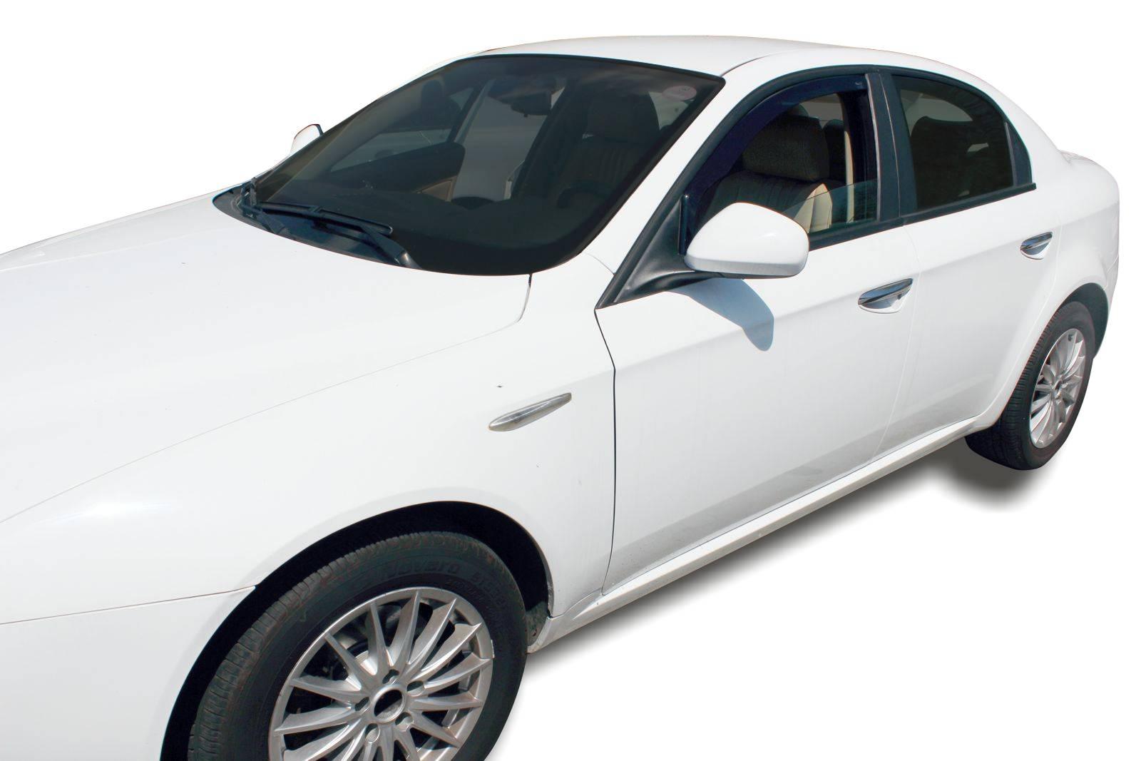 Okenné deflektory Alfa Romeo 159 4D 2005-2011 2 ks predné