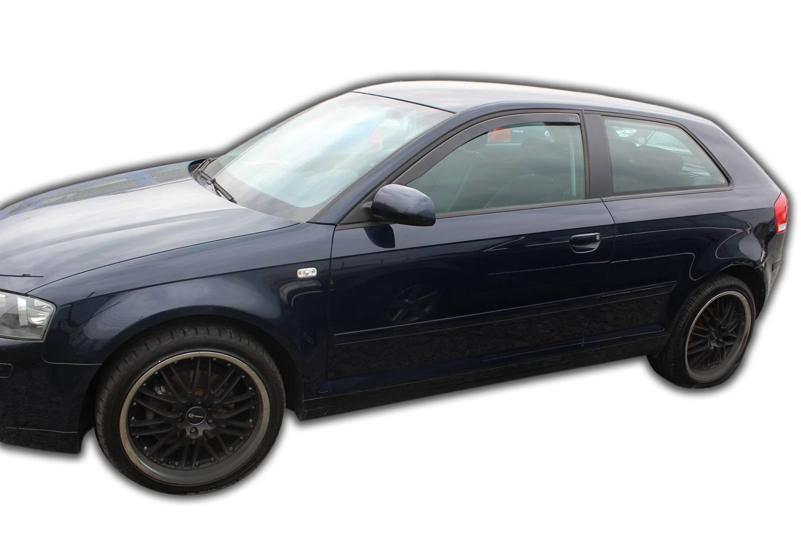 Okenné deflektory Audi A3 3D 2003-2012 2 ks predné
