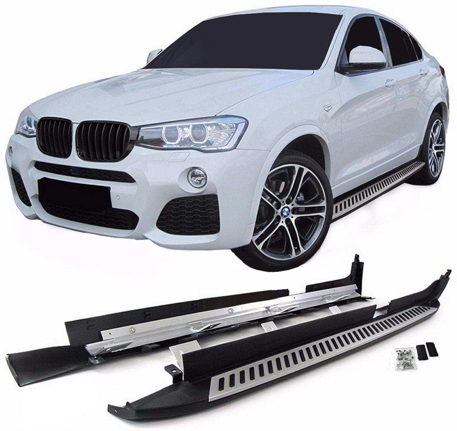 Bočné nášľapy BMW X4 2014-2018