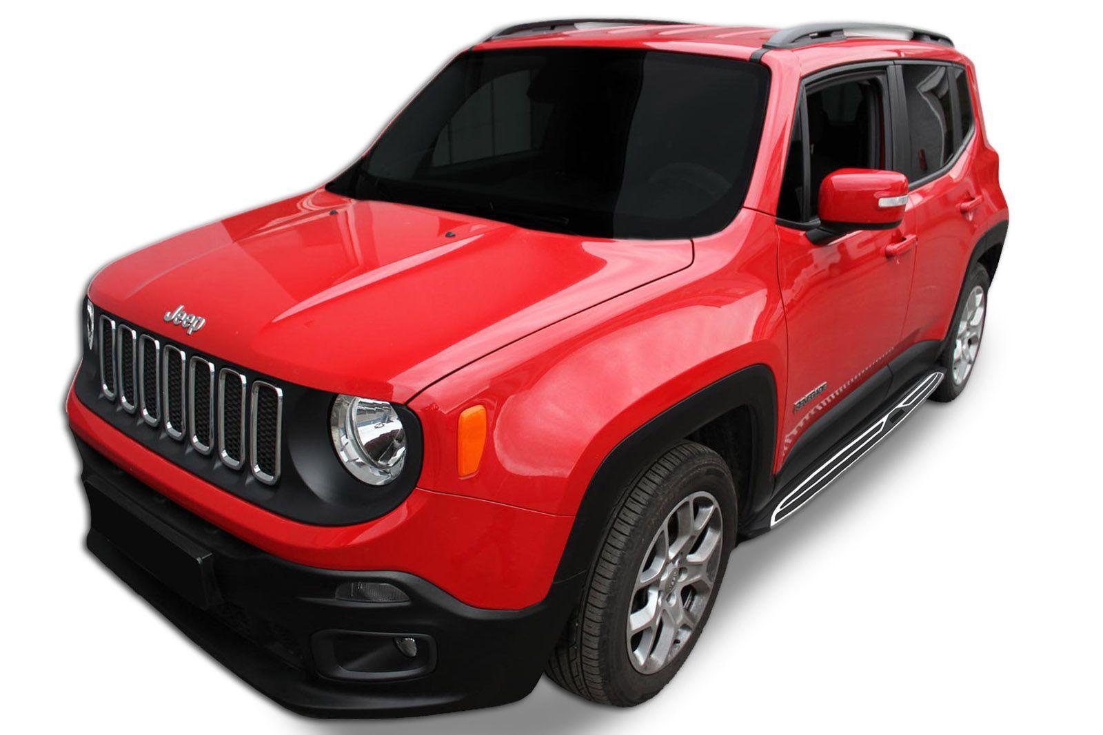Bočné nášľapy Jeep Renegade 2016-up