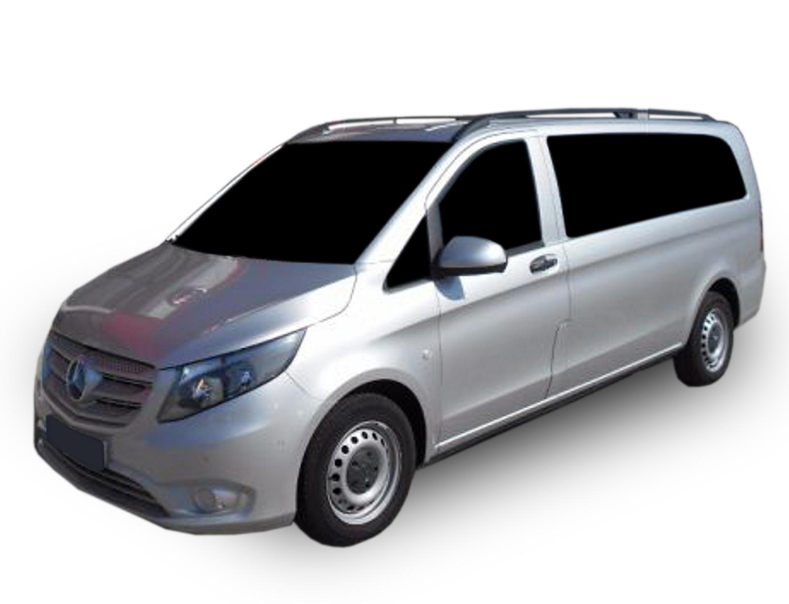 Strešné nosiče Mercedes-Benz Vito W639 2003-2014