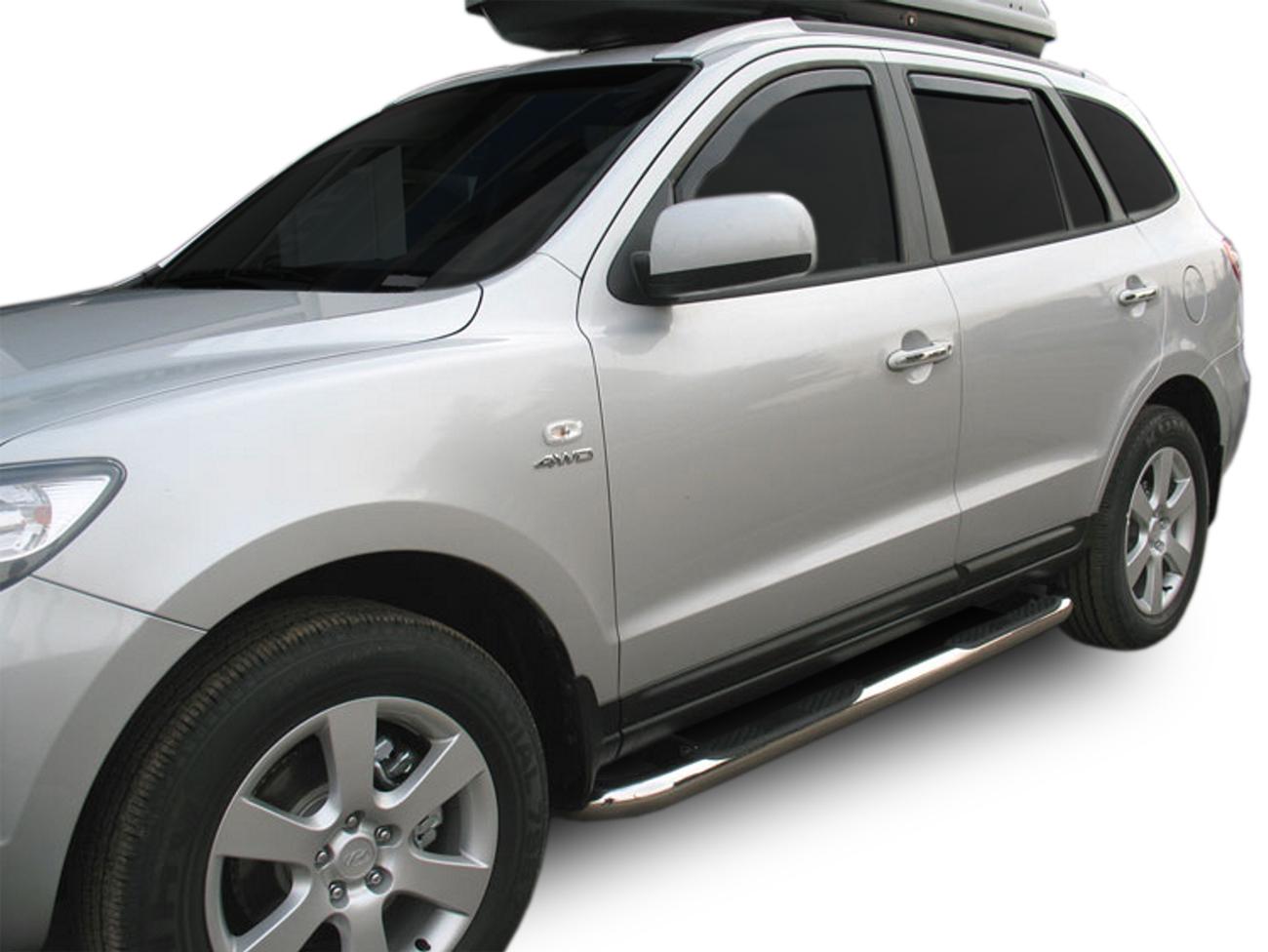 Bočné nerezové rámy Hyundai Santa Fe 2006-2012