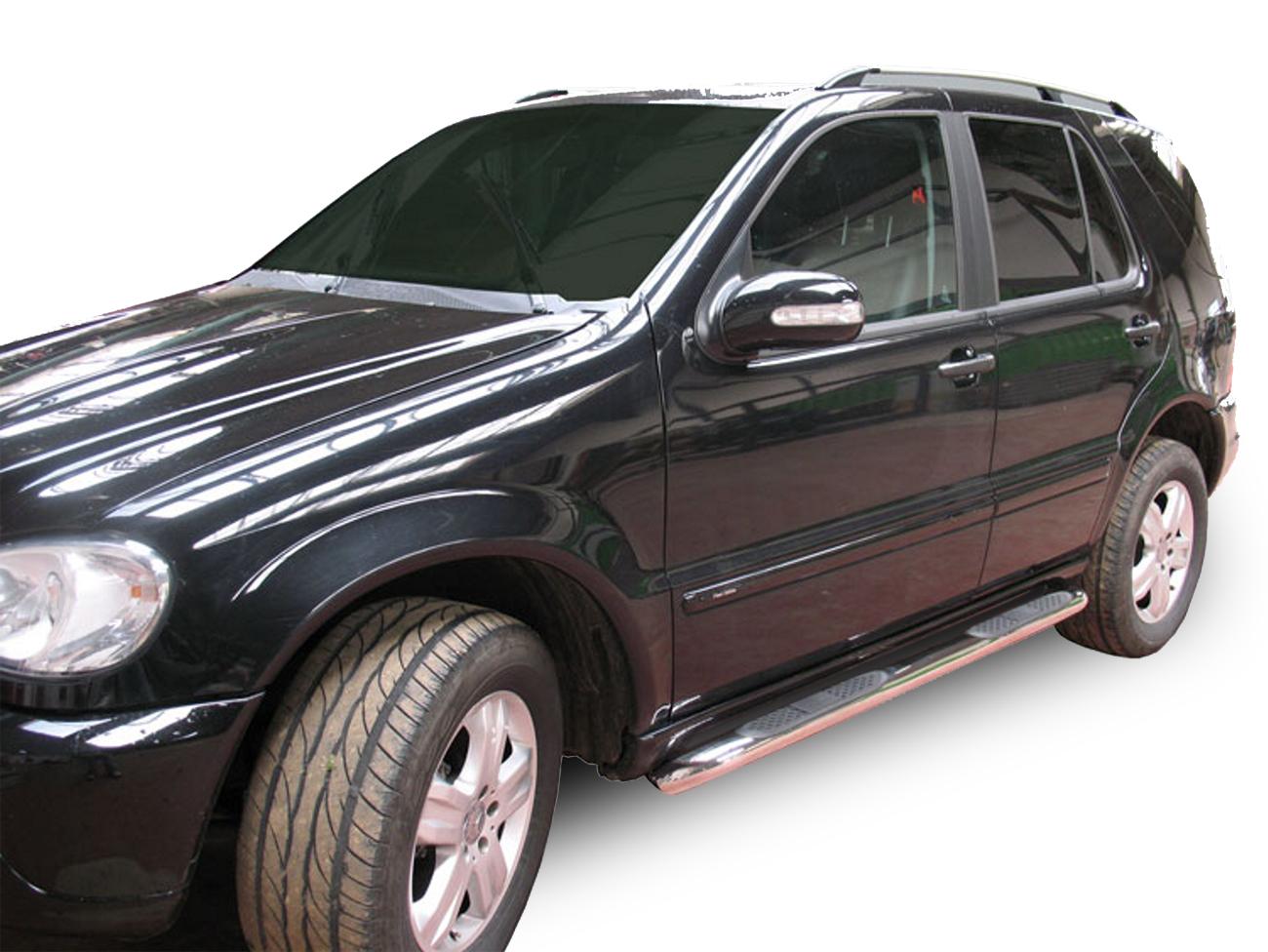 Bočné nerezové rámy Mercedes-Benz ML-Class W163 1998-2005