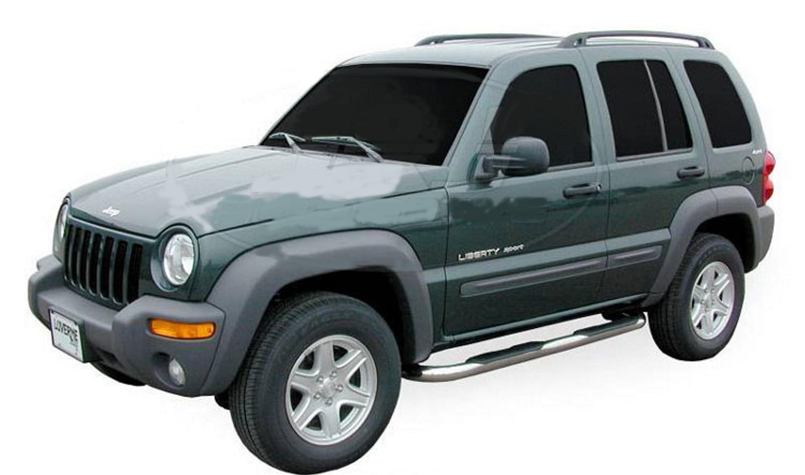 Bočné nerezové rámy Jeep Cherokee 2001-2006