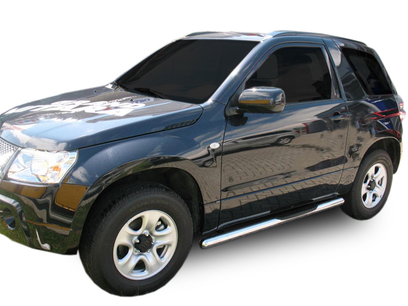 Bočné nerezové rámy Suzuki Grand Vitara 3DR 2005-2015