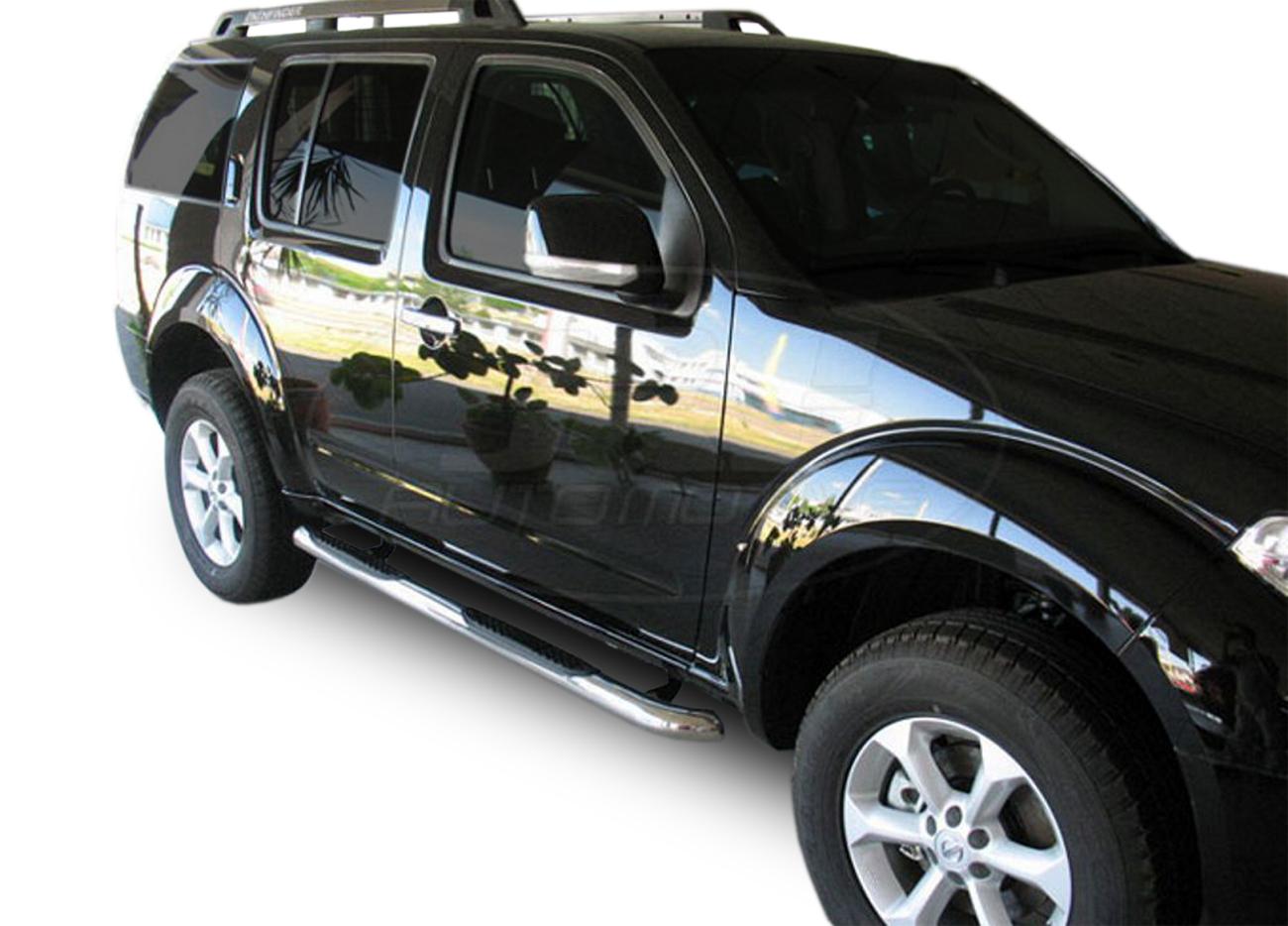 Bočné nerezové rámy Nissan Pathfinder 2005-2012