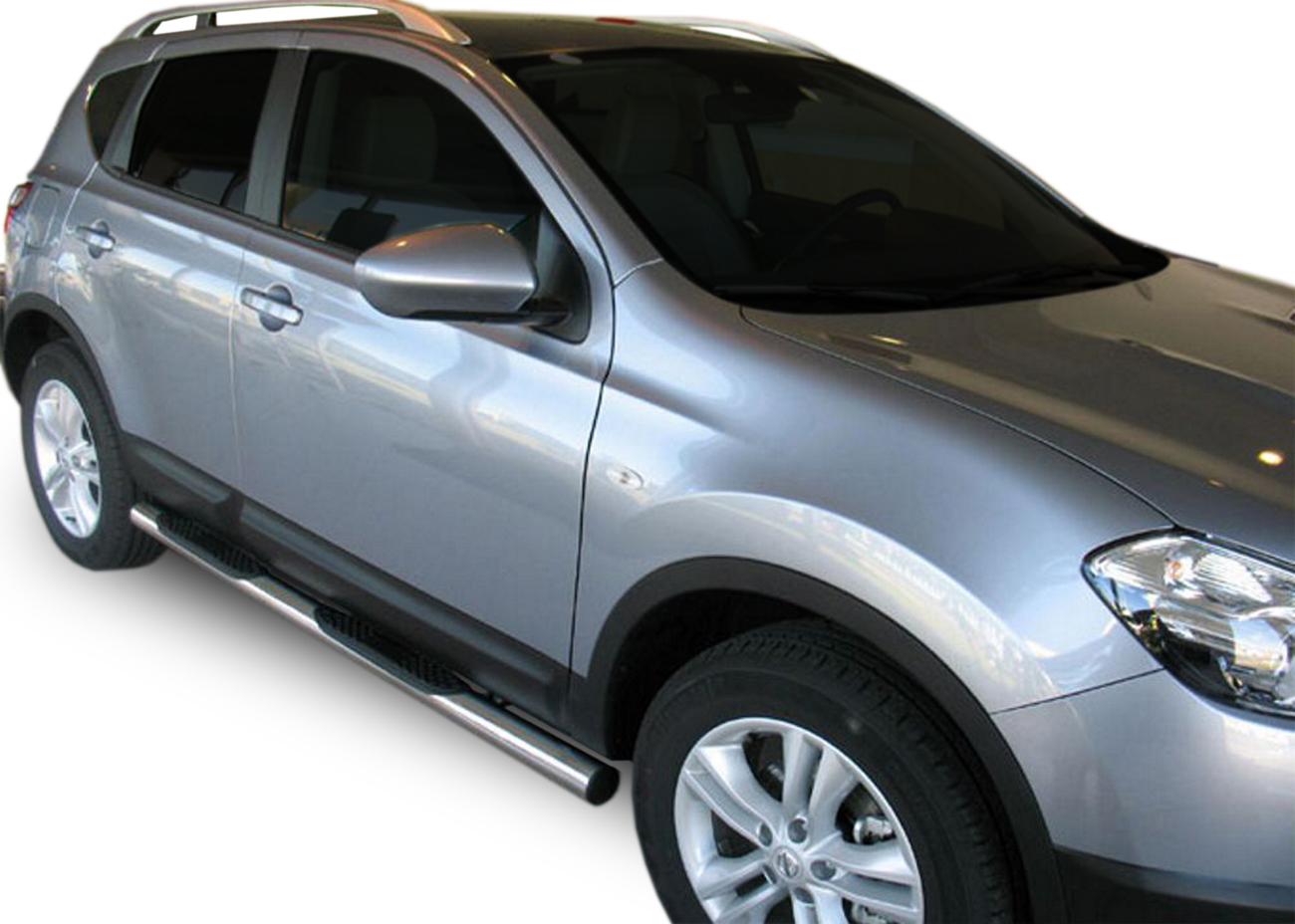 Bočné nerezové rámy Nissan Qashqai 2007-2013