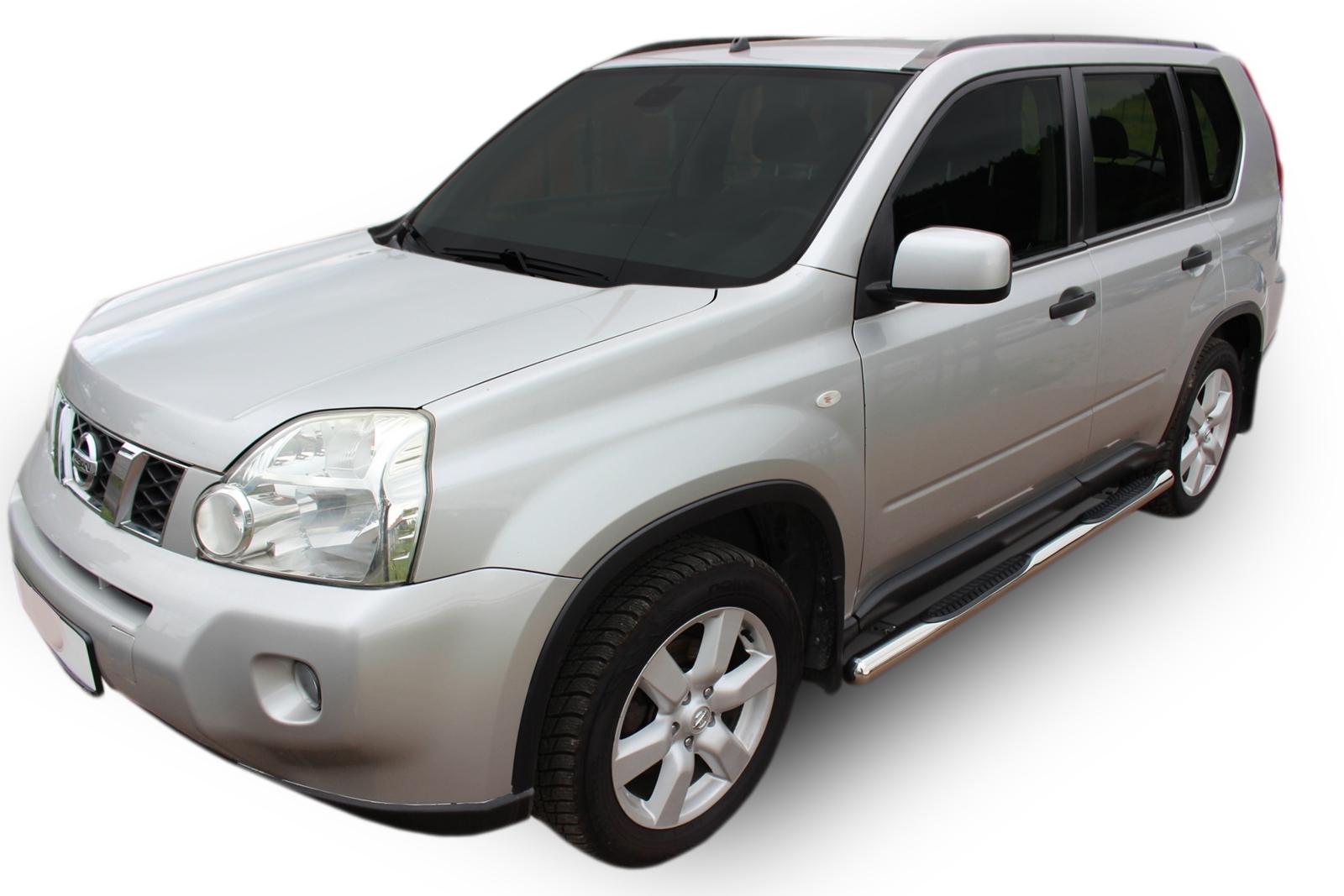 Bočné nerezové rámy Nissan X-Trail T31 2 2007-2013