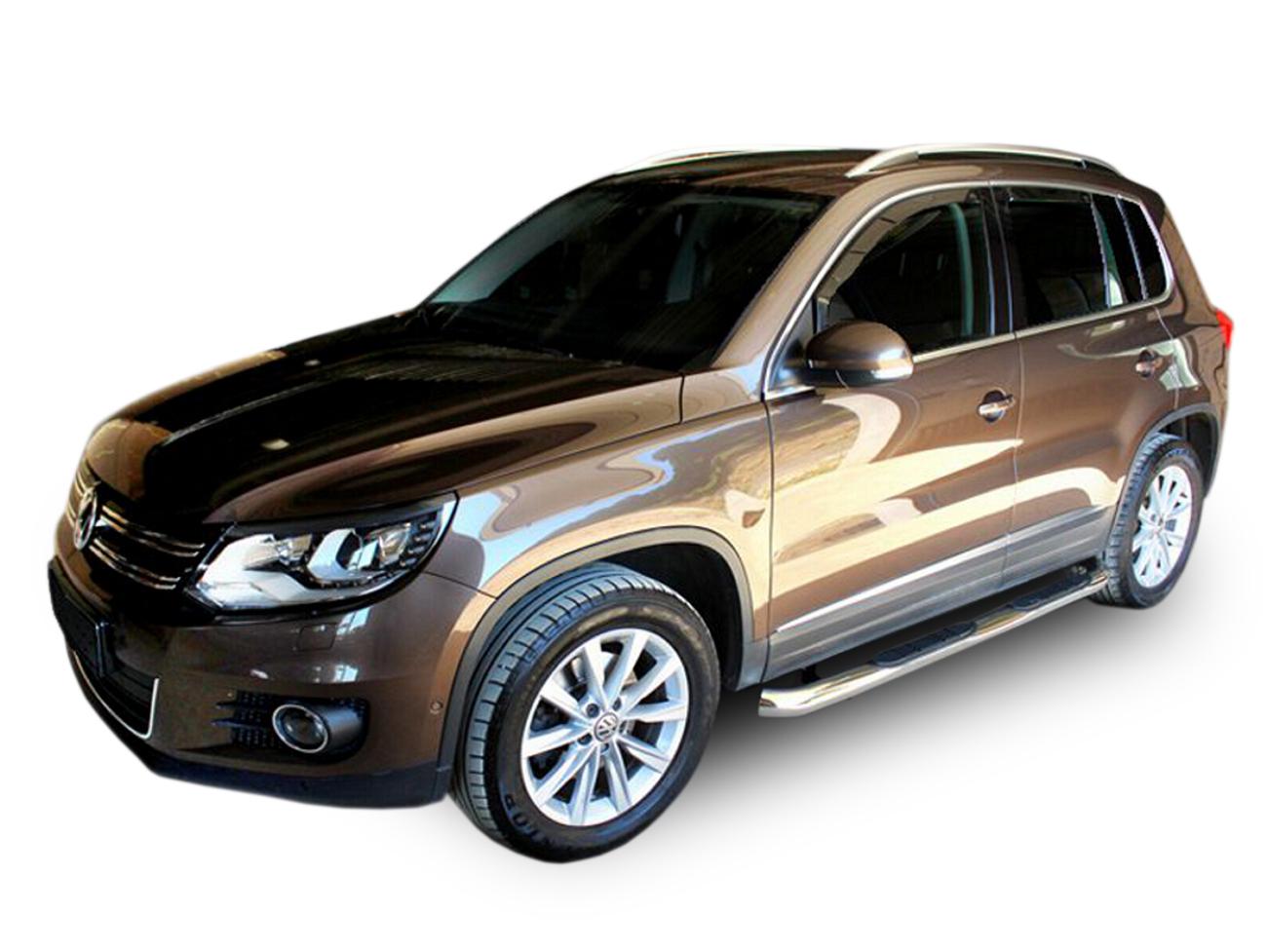 Bočné nerezové rámy Volkswagen Tiguan 2007-2015