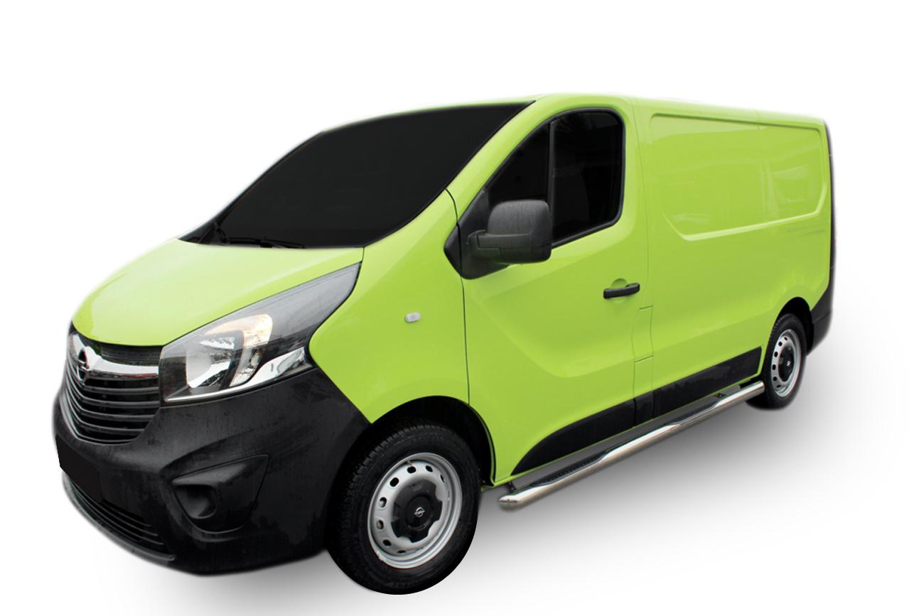 Bočné nerezové rámy Opel Vivaro 2002-2011