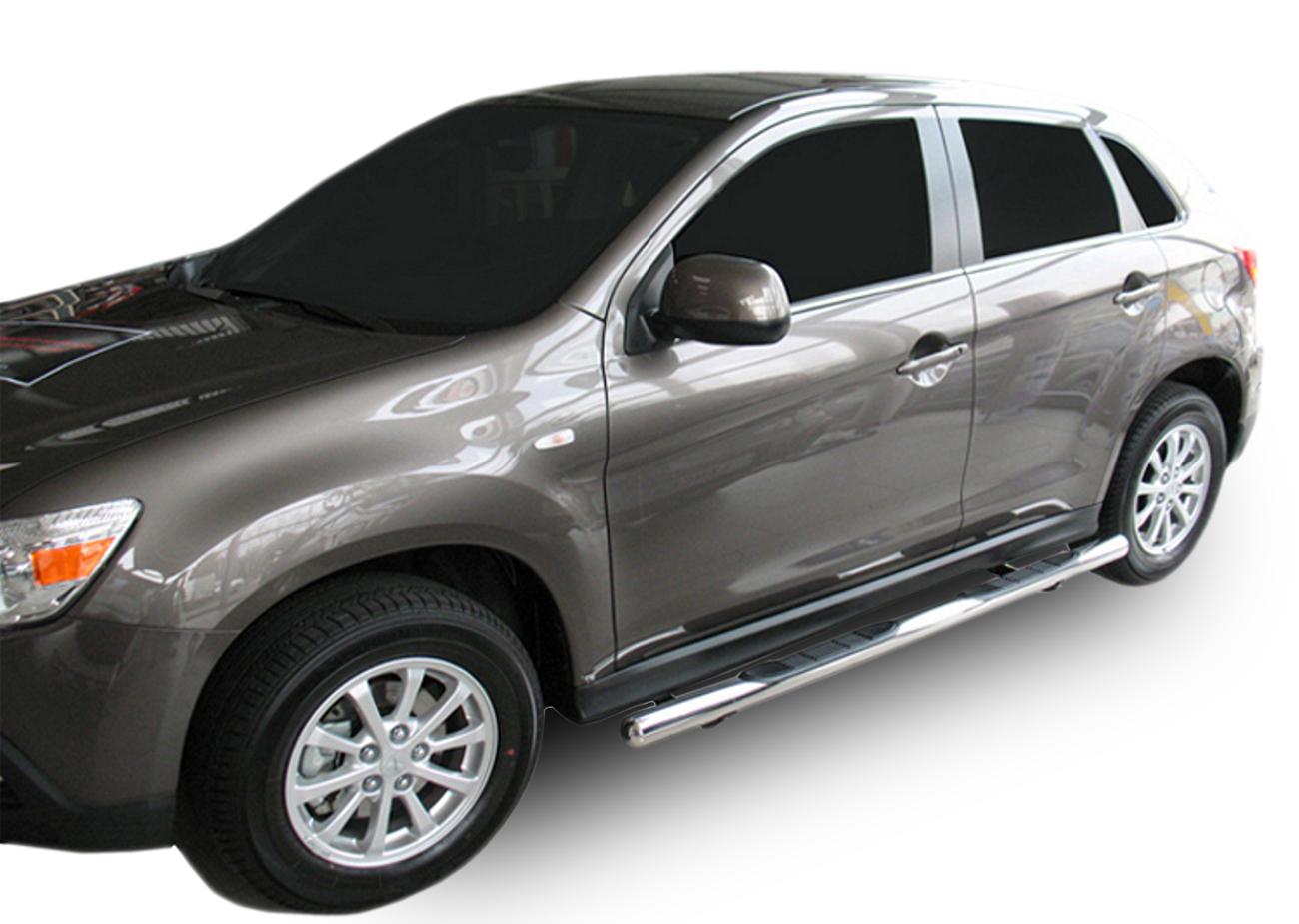 Bočné nerezové rámy Mitsubishi ASX 2010-up