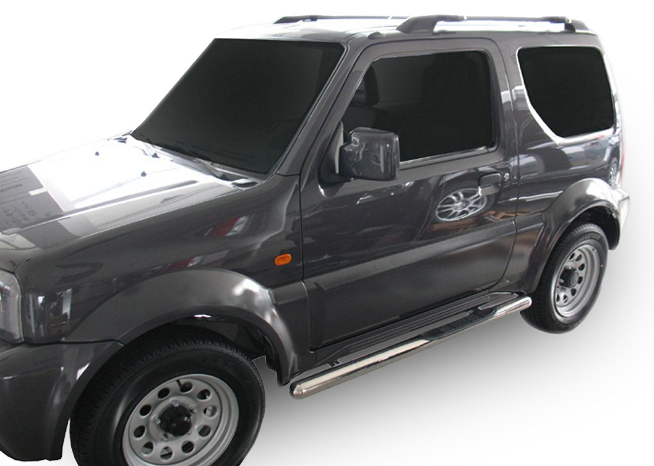 Bočné nerezové rámy Suzuki Jimny 3D 1998-2018