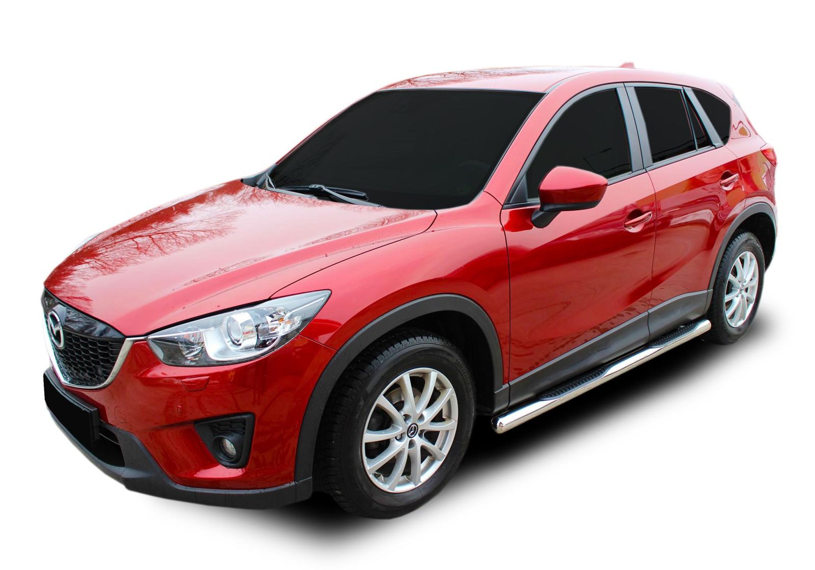 Bočné nerezové rámy Mazda CX-5 2012-2016