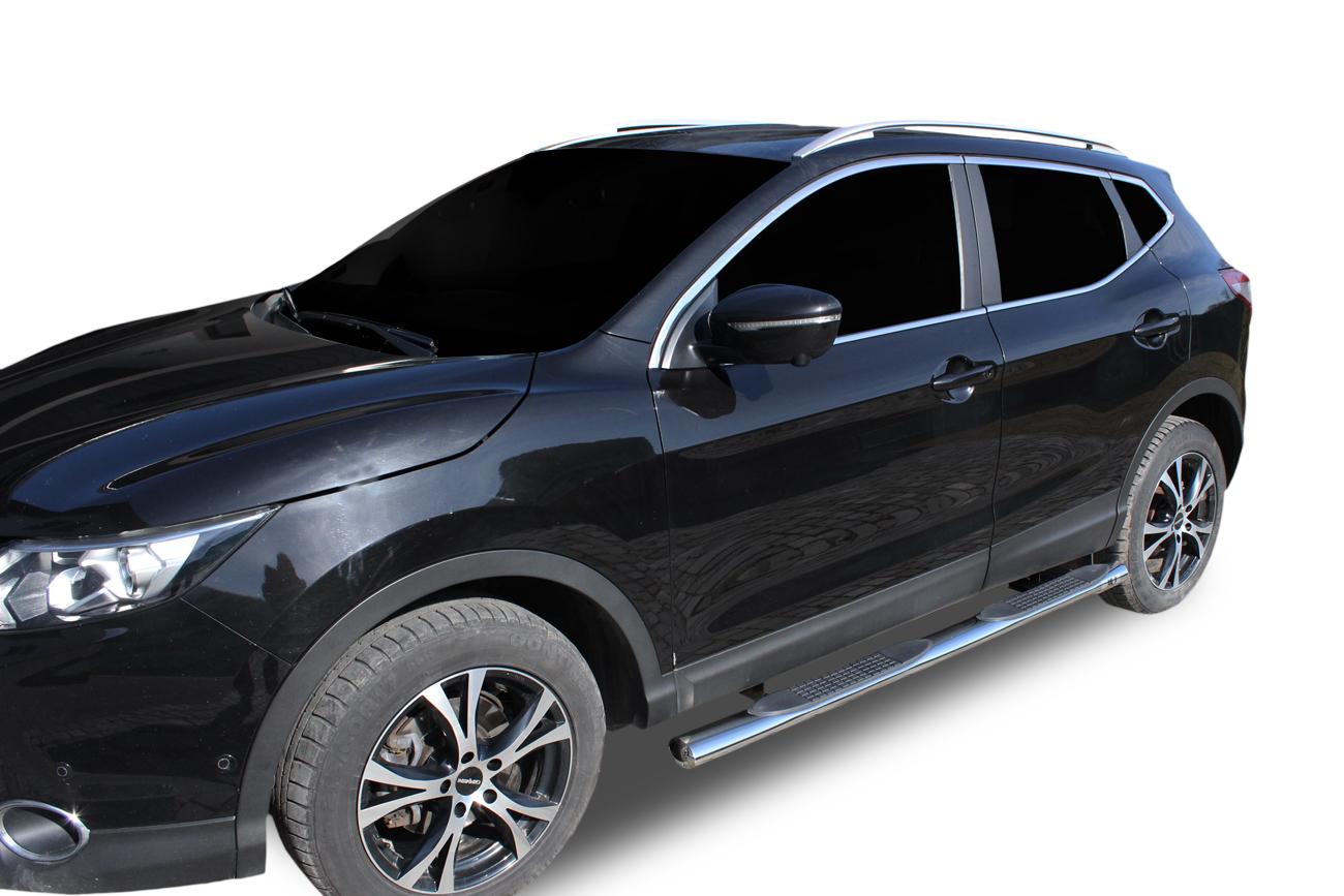 Bočné nerezové rámy Nissan Qashqai 2014-2018
