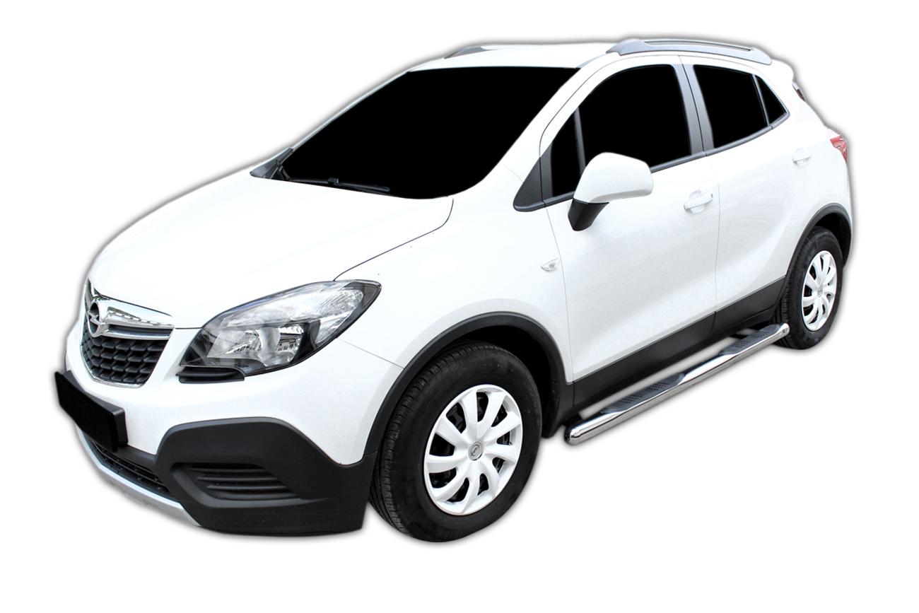 Bočné nerezové rámy Chevrolet Trax 2012-2020