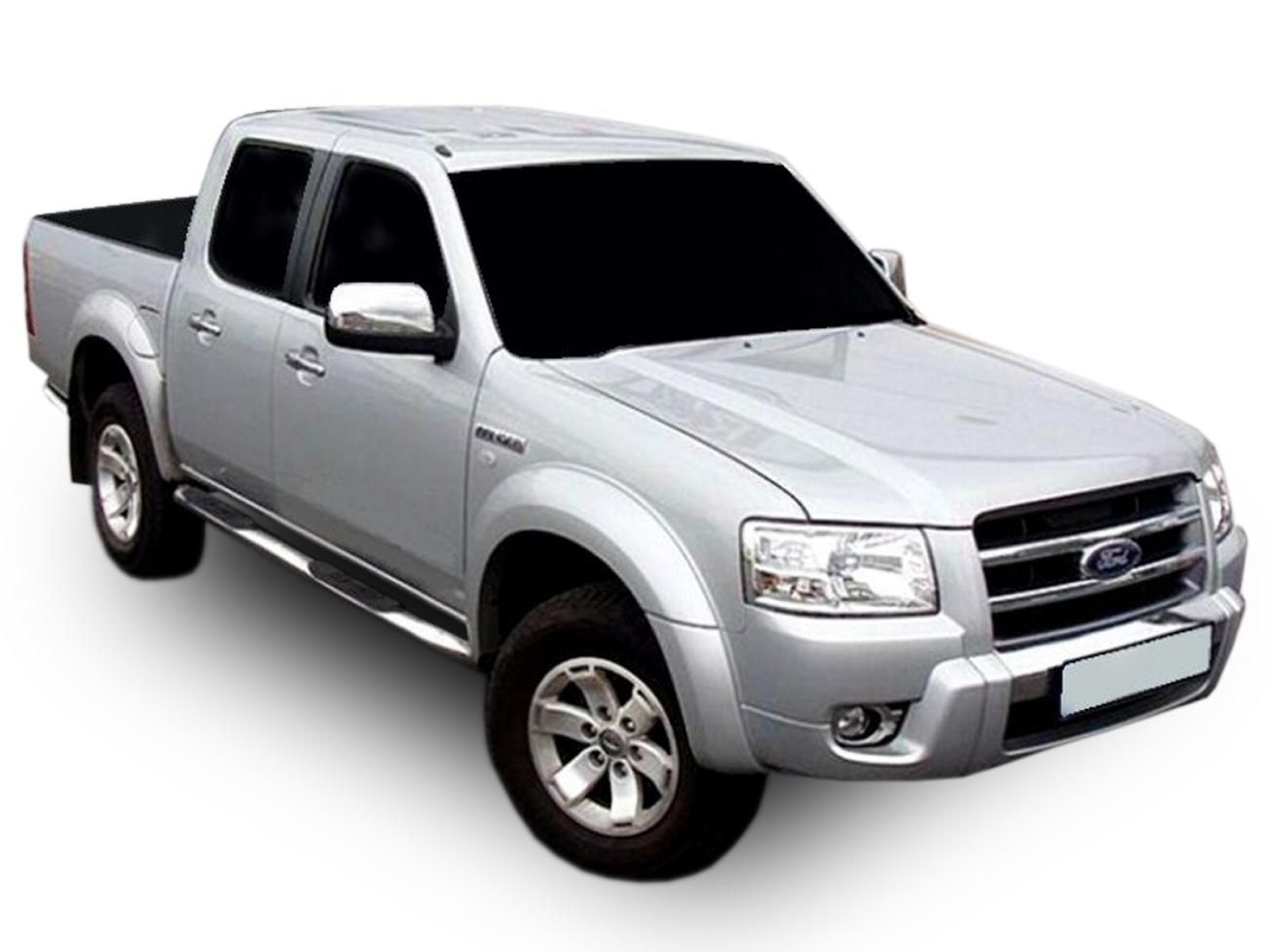 Bočné nerezové rámy Ford Ranger 2006-2013