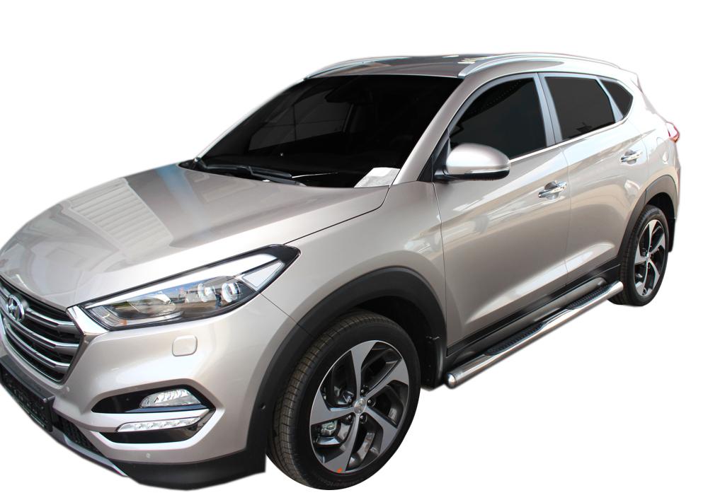 Bočné nerezové rámy Hyundai Tuscon 2015-up