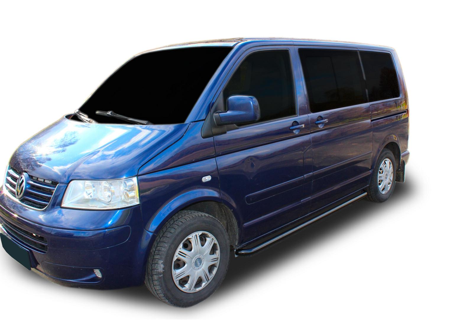 Bočné nerezové rámy Volkswagen Transporter T5 2003-2015