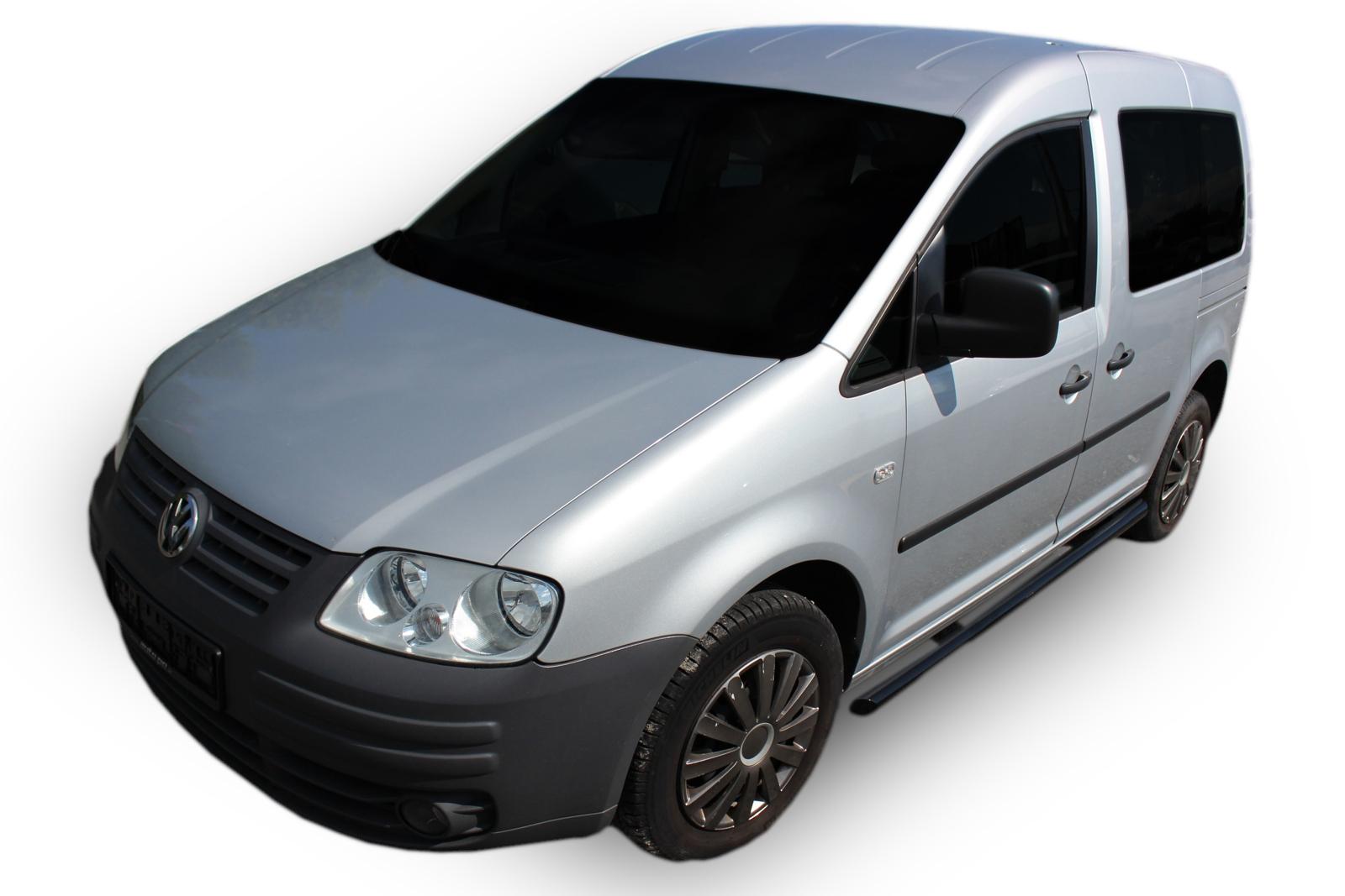 Bočné nerezové rámy Volkswagen Caddy 2003-2015