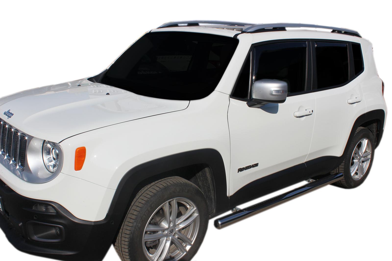 Bočné nerezové rámy Jeep Renegade 2014-up