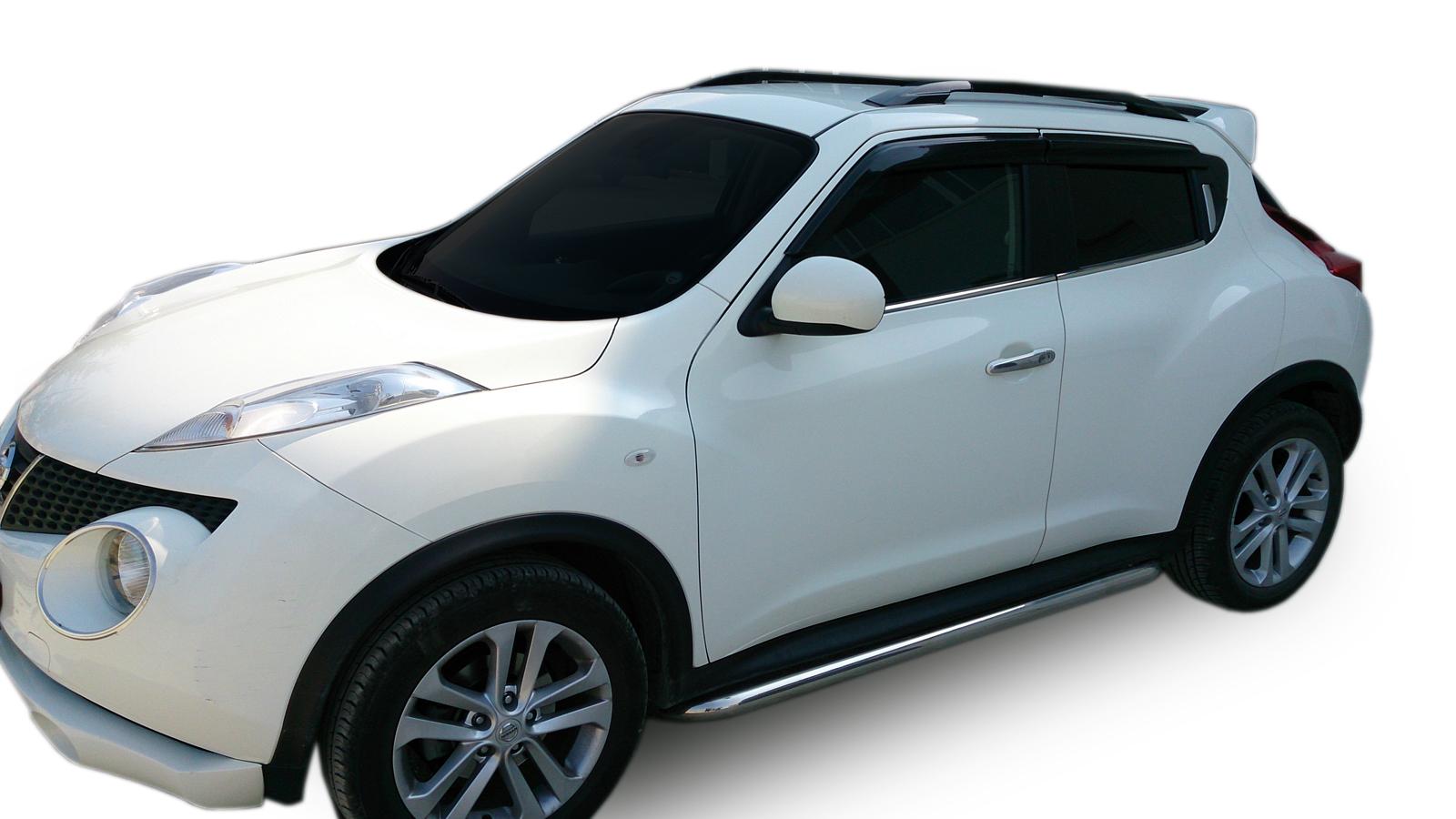 Bočné nerezové rámy Nissan Juke 2014-2019
