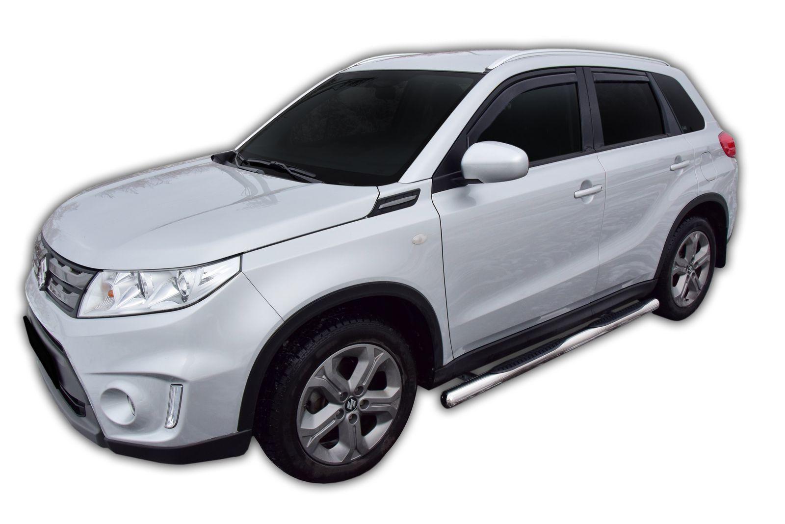 Bočné nerezové rámy Suzuki Vitara 2015-up