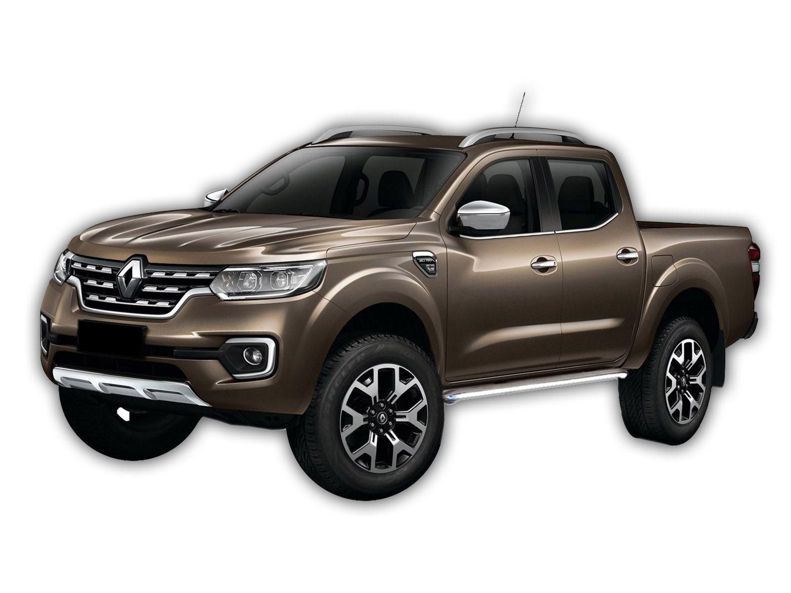 Bočné nerezové rámy Renault ALASKAN 2016-up