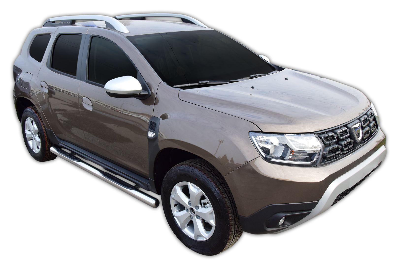Bočné nerezové rámy Dacia Duster 2 2018-up